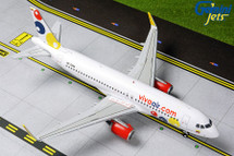 Viva Air Peru A320-200, HK-5286 Gemini Diecast Display Model