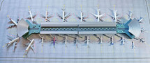 New Terminal Set 1:400 Scale Gemini Diecast Display Model