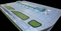 New Mat Set for New Terminal 1:400 Scale Gemini Diecast Display Model