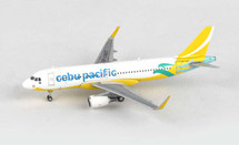 Cebu Pacific A320-200 (New Livery) RP-C4107 Gemini Diecast Display Model