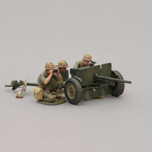 The 37 mm Gun, cannon, nine shells, and two ammo boxes, figures sold separately