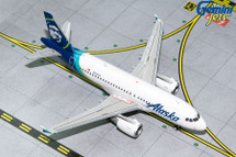 Alaska A319 N530VA Gemini Diecast Display Model