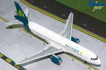 Aer Lingus A320-200 (New Livery) EI-CVA Gemini Diecast Display Model