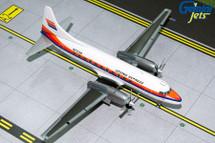 United Express CV-580 (Saul Bass Livery) N73126 Gemini Diecast Display Model