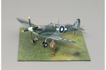 Supermarine Seafire NN212 Naval Ace `Spud` Murphy WWII Mahogany Display Model