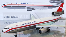 Swissair DC-10-30 HB-IHE with stand polished