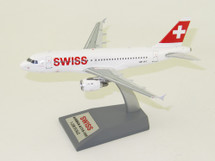 Swiss International Air Lines Airbus A319-112 HB-IPT With Stand