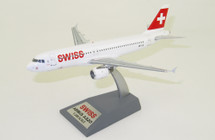 Swiss International Airlines Airbus A320-214 HB-IJK With Stand