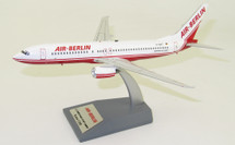 Air Berlin Boeing 737-86J D-ABAT With Stand