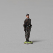 12th SS Panzer Division Tanker (leather Italian submarine jacket) single figure, WWII
