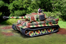 Tiger Ausf E Normandy from The Collectors Showcase