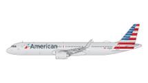 American A321neo N400AN Gemini Diecast Display Model