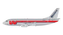 Western Airlines 737-300, N306WA Gemini Jets Display Model