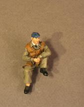 Ground Crewman Sitting, the Royal Air Force, The Second World War, single figure