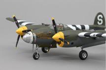 P-38 California Cutie WWII Mahogany Display Model