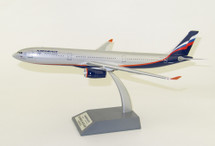 Aeroflot Russian Airlines VP-BDE Airbus A330-343 with stand