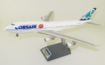 Corsair Boeing 747-300 F-GSEX With Stand
