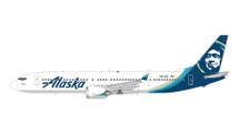 Alaska Airlines 737 MAX 9, N913AK Gemini Diecast Display Model