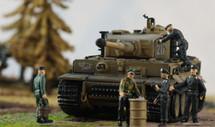 "Sd.Kfz.181 Pz.Kpfw.VI Ausf.E ""Tiger I"" Tank Otto Carius, s.Pz.Abt.502, Eastern Front, 1944"