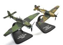 "Hurricane Mk.I, 43 Squadron, RAF Tangmere + Ju 87B Stuka, 1.StG2 ""Immelmann,"" Dunkirk, 1940 by Atlas Editions"