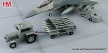 US Modern Weapon Loading Set II 1:72 Scale Ford Tractor, Missiles Trailer, Lift Truck Die Cast Model