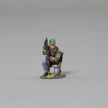 Kneeling SS infanteer from the 12th SS with MG42 with base, WWII