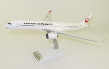 Japan Airlines JAL Airbus A350-900 JA02XJ Silver With Stand
