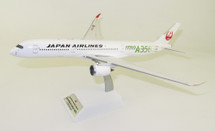Japan Airlines JAL Airbus A350-900 JA03XJ Green With Stand