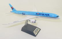 Korean Air Boeing 787-9 Dreamliner HL8082 50th anniversary With Stand