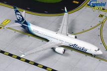 Alaska Airlines Boeing 737 MAX 9, N913AK Gemini Diecast Display Model