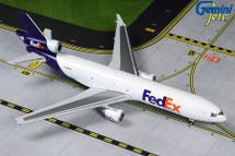 Federal Express McDonnell Douglas MD-11F, N625FE Gemini Diecast Display Model