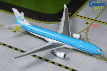 KLM Royal Dutch Airlines Airbus A330-200, PH-AOM New Livery Gemini Diecast Display Model
