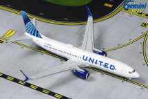 United Airlines Boeing 737-800, N37267 New Livery Gemini Diecast Display Model