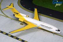 Northeast B727-100, N1632 Yellowbird Livery Gemini 200 Diecast Display Model