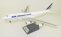 Air France Asie Boeing 747-400 F-GISA With Stand