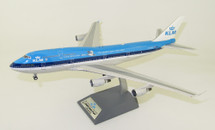 KLM Royal Dutch Airlines Boeing 747-400 PH-BFV City of Vancouver With Stand
