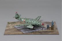 Me 262 Schwalbe Late War Camouflage Paint Scheme WWII Display Model