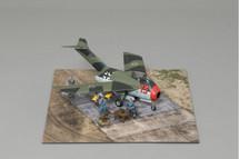 Focke Wulf Ta-183 Huckebein, Werner Molders WWII Display Model