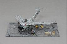Focke Wulf Ta-183 Huckebein, Bubbi Hartmann WWII Display Model