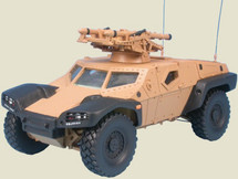 Panhard Combat Reconaissance Combat Buggy (CRAB) with Mistral Missiles French Army