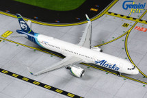 Alaska A321neo, N928VA Gemini Diecast Display Model