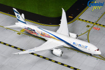 El Al Israel 787-9 Dreamliner, 4X-EDD Gemini Diecast Display Model