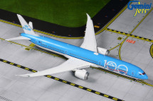 KLM B787-10 PH-BKA KLM 100 livery flaps-down version Gemini Diecast Display Model