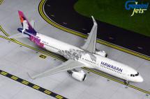 Hawaiian A321neo, N204HA Gemini 200 Diecast Display Model