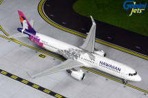Hawaiian A321neo, N204HA Gemini 200 Diecast Display Model