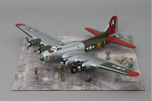 B-17 Little Miss Mischief WWII Mahogany Display Model