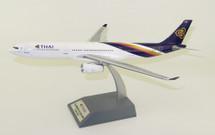 Thai Airways A330-343 HS-TBC with stand
