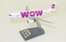 WOW Air Airbus A320-232 LZ-WOW With Stand
