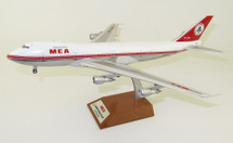 Middle East Airlines MEA Boeing 747-200 OD-AGH Polished With Stand, Limited 36 pieces