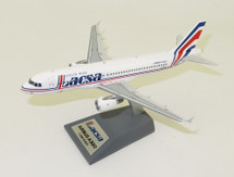 LACSA Airbus A320-200 N481GX With Stand